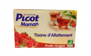 tisane d'allaitement fruits rouges PICOT